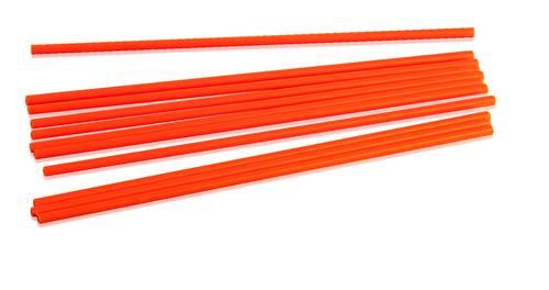 Orange cake pillars