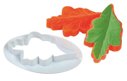 Veiner silicone mould and cutters for leaves and petals