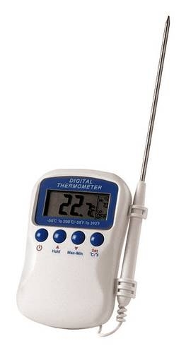 Digital thermometer with probe multi-function