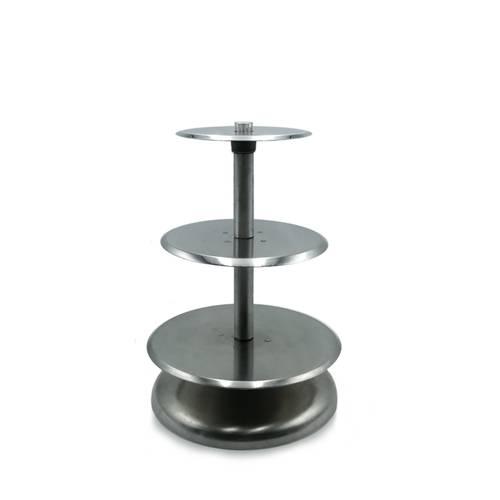 Alzata per torte multipiano in alluminio
