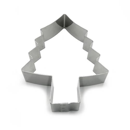 Stainless steel cake rings Christmas tree shaped
