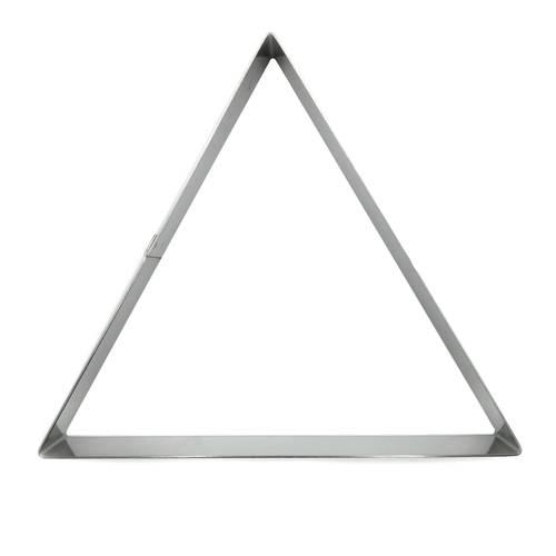 Dreieckige Tortenringe aus Edelstahl