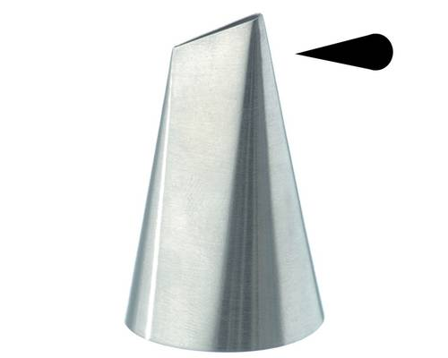 Stainless steel petal pastry tubes