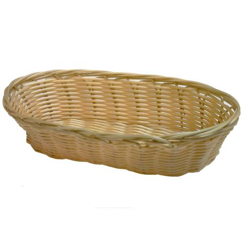 Oval bread proofing basket