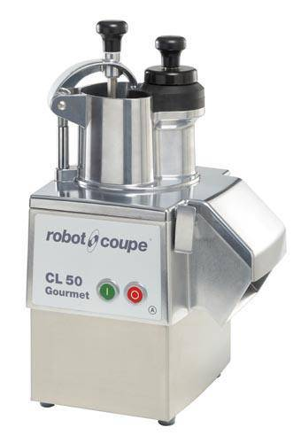 Electric vegetable slicer CL 50 GOURMET ROBOT COUPE single phase