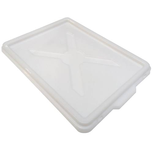 Lid for pizza dough trays
