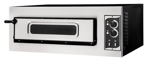 Professional Electric pizza oven with glass door and 62x50 cm chamber