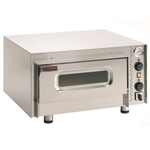 Electric PIZZA and BREAD oven with glass door and 51x51 cm chamber