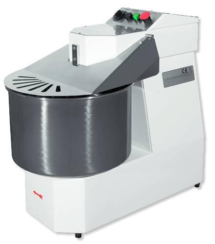 dough mixer, professional, 35 kg, wheel