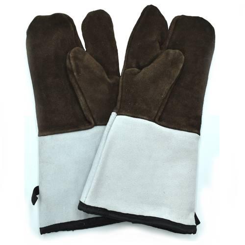3-vinger gevoerde ovenwanten