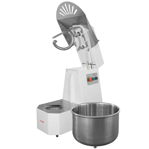 Tilt head and removable bowl spiral dough mixer 5 Kg professional