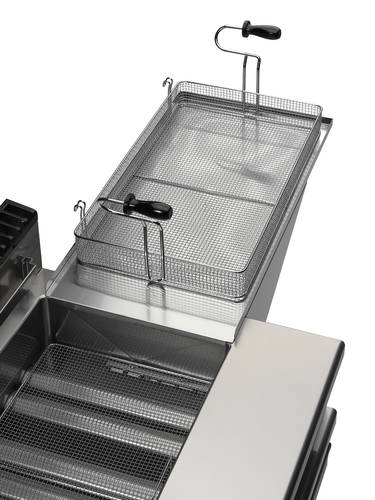 Gas-fired pastry fryer GIORIK