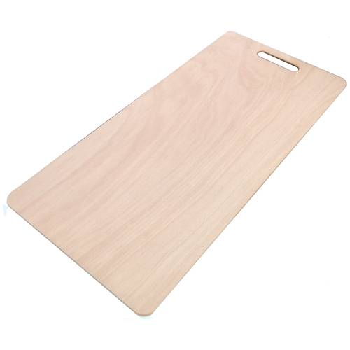 Wooden pizza board for one meter pizza