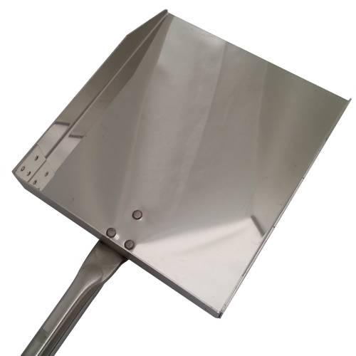 Stainless steel peel for embers