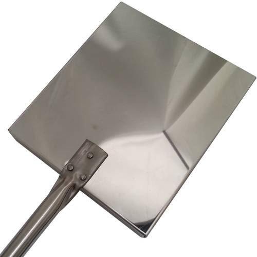 Stainless steel peel for embers