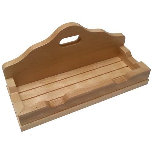 Poggia pale in legno Lilly