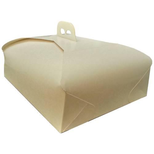 Porta torta in cartone rettangolare e quadrato
