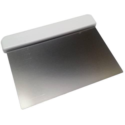 Raschia in acciaio inox con impugnatura in plastica