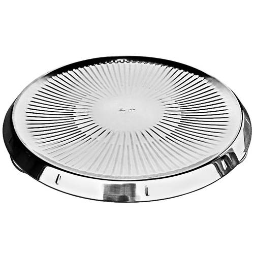 Warming plate for pizza stainless steel