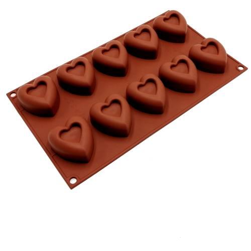 Stampi in silicone a forma di cuore