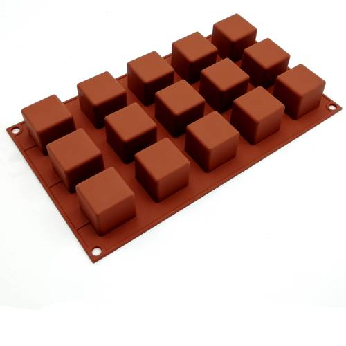 Stampi in silicone per dolci cubici