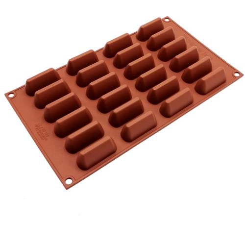 Silicone moulds for ingots-shaped cakes