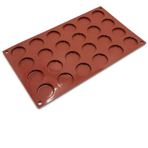Silicone moulds for circular cakes