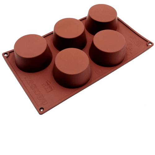 Silicone moulds for muffins