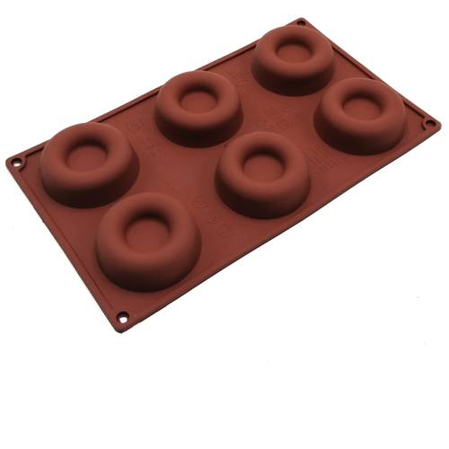 Silicone moulds for savarin cakes