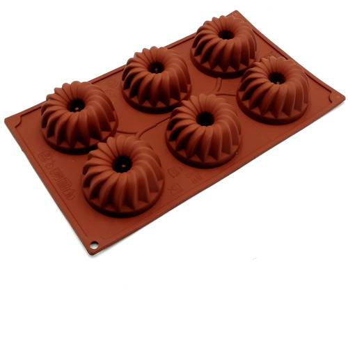 Silicone moulds for gugelhupf