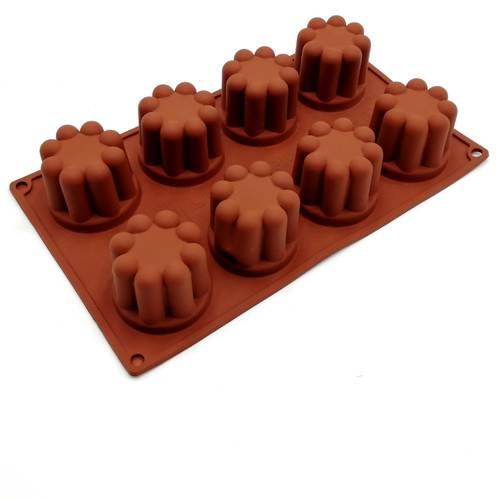 Silicone moulds for bavarian cakes