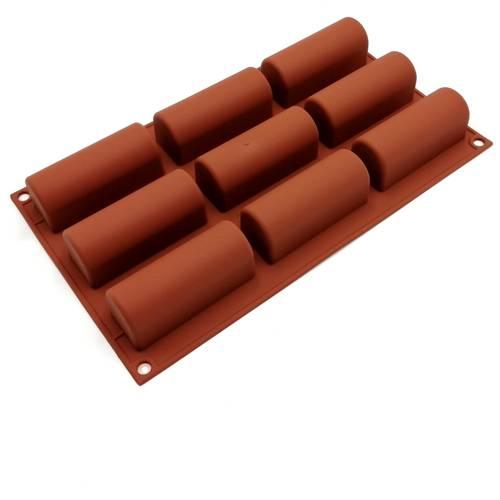 Stampo in silicone per dolci cilindrici