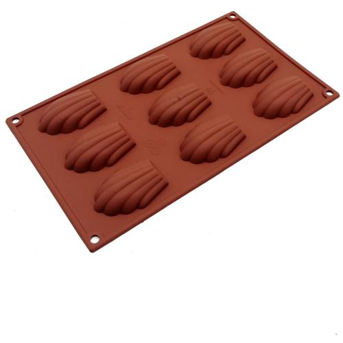 Silicone moulds for madeleines
