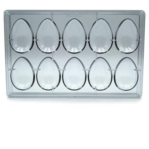 Stampo per 10 uova di Pasqua in policarbonato