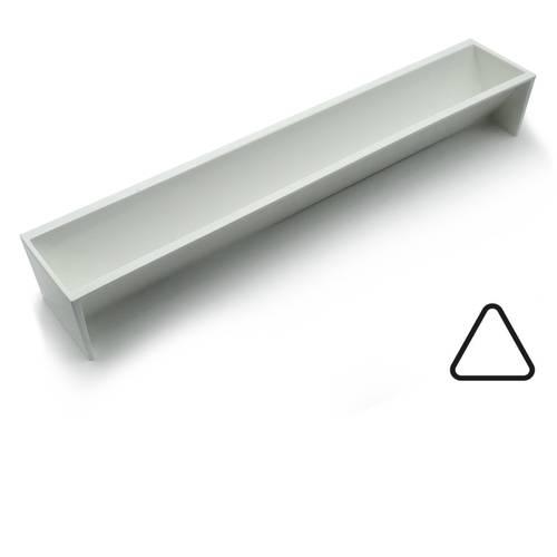 Kunststoffform für Dreikantstamm