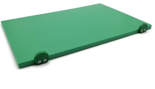 Coloured polyethylene cutting board with stoppers 60x40 cm