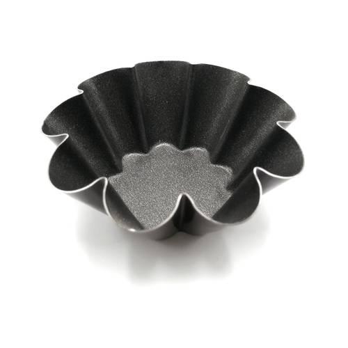 Stampo per tartellette a cestino circolare festonato (brioche)