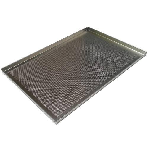 Teglia da forno forata in alluminio cm 60x50