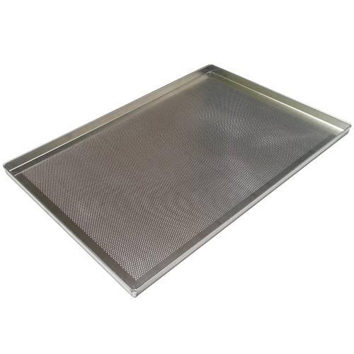 Teglia da forno forata in alluminio cm 60x40