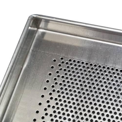 Teglia da forno forata in alluminio cm 60x80