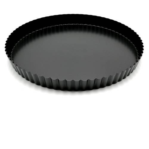 Non-stick fluted cake tin