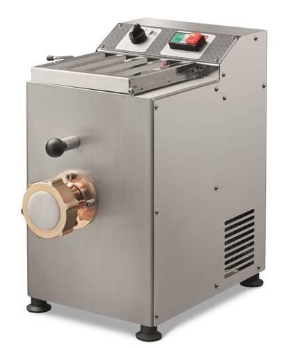 Macchina per pasta fresca elettrica professionale produzione oraria 4 kg capacità 1,7 kg in acciaio inox