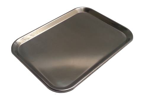 Roestvrij stalen dienblad voor gebak