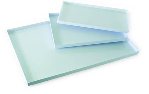 Plastic dienblad 60x40 cm